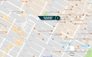 Pick up location in NYC